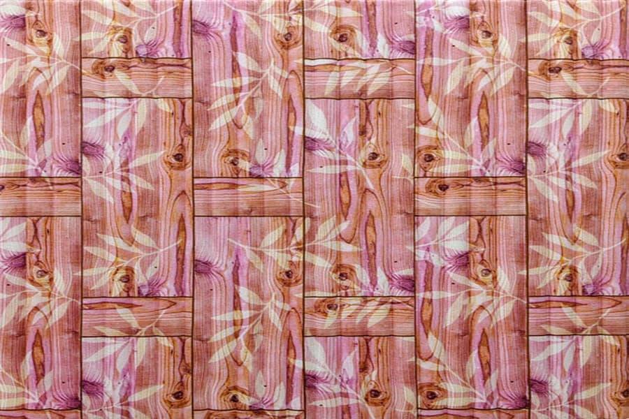 Купити самоклеюча декоративна 3D панель 054 бамбукова кладка помаранчева в Україні. Замов зараз. Доступні ціни інтернет магазин БудБум.
