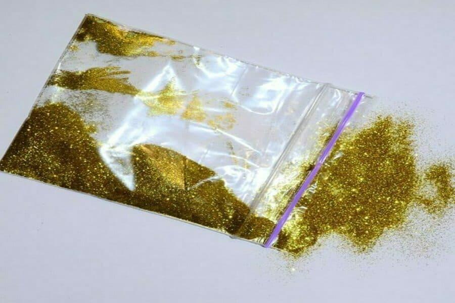 Золотистий блиск крапка ТМ Біопласт купити ціна фото