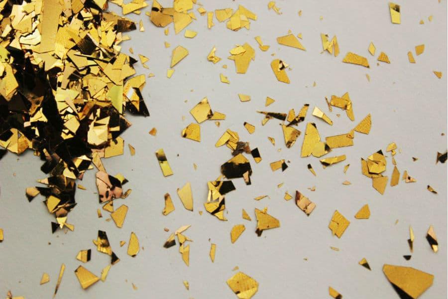 Блиск бронза Рваний 017 добавка до рідких шпалер Макс-Колор. Купити гліттери (блискітки) для декорування інтер'єру. Відмінна якість. Усе в наявності. Швидка доставка по Україні. Доступні ціни.