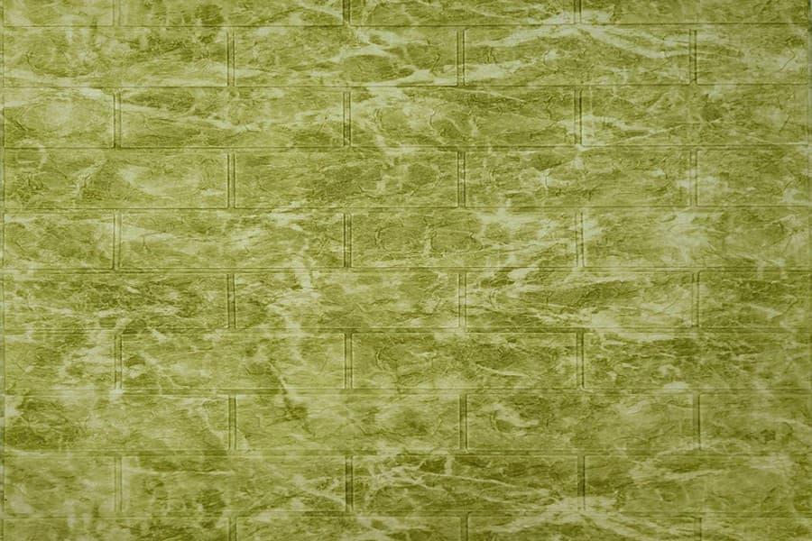 Самоклейка декоративна 3D панель 069 мармур зелений 700x770x5мм купити в Україні - БудБум
