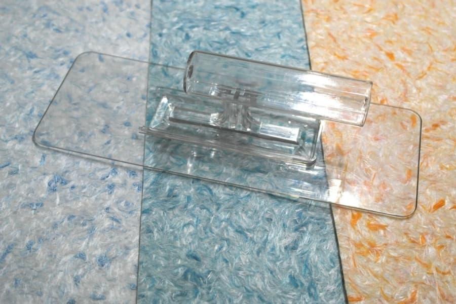 Полутер прозорий для нанесення рідких шпалер ціна шпатель, терка, гладилка