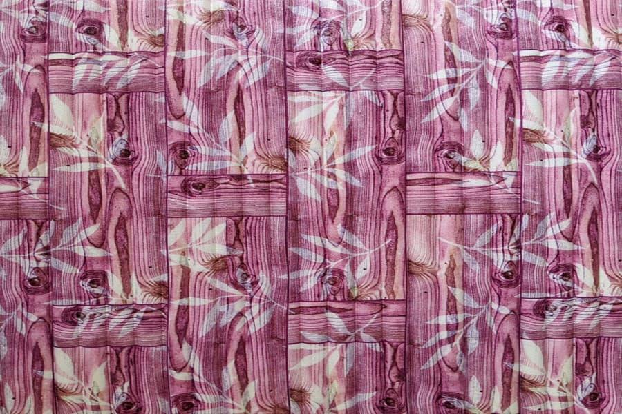Купити самоклеюча декоративна 3D панель 052 бамбукова кладка рожева в Україні. Замов зараз. Доступні ціни інтернет магазин БудБум.