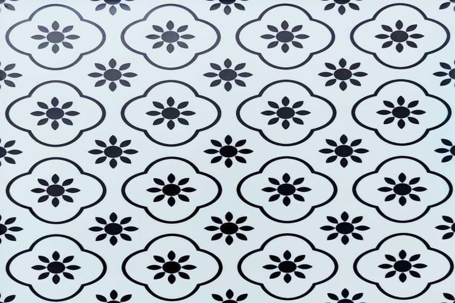Самоклеюча вінілова плитка СВП 215 квіточки матовий 600х600х1,5мм в Україні. Доступні ціни в магазині Буд-Бум