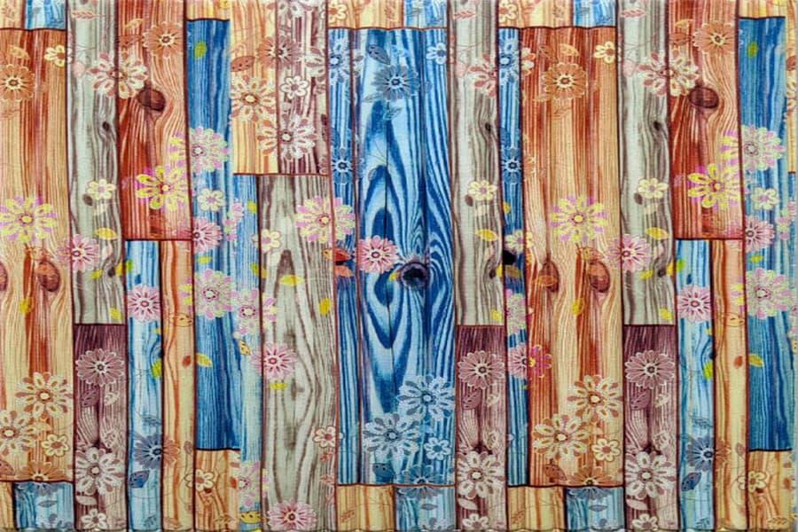 Купити самоклеюча декоративна 3D панель 076 бамбук квіти в Україні. Замов зараз. Доступні ціни інтернет магазин БудБум.