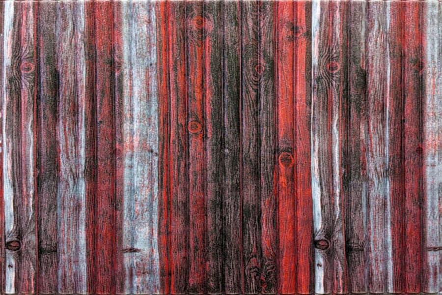 Купити самоклеюча декоративна 3D панель 074 бамбук червоно-сірий в Україні. Замов зараз. Доступні ціни інтернет магазин БудБум.