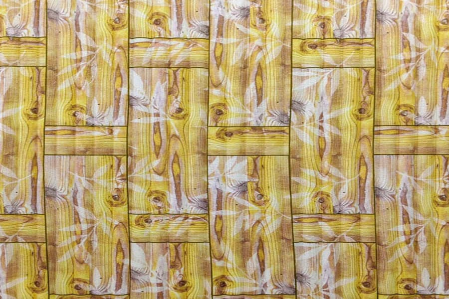 Купити самоклеюча декоративна 3D панель 056 бамбукова кладка жовта в Україні. Замов зараз. Доступні ціни інтернет магазин БудБум.