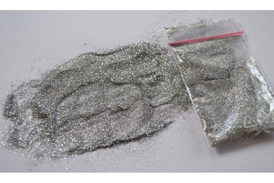 Блиск срібло крапка ТМ Юрські купити для рідких шпалер Київ в Україні