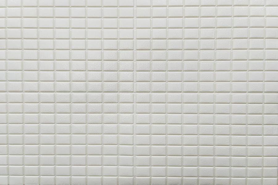 Самоклейка 3D панель 198 біла мозаїка 700x700x5мм купити Київ в Україні - БудБум