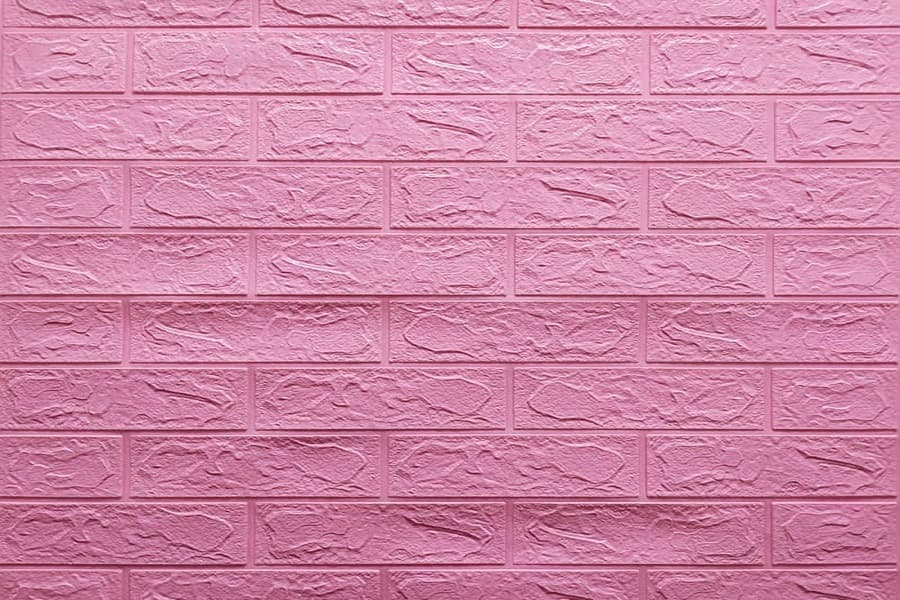 Самоклеящаяся декоративна 3D панель 04-3 під рожеву цеглу 700x770x3мм купити в Україні - БудБум