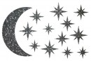 Купити Декор з рідких шпалер Зоряне небо 2 набір 13 шт
