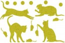 Купити Декор з рідких шпалер Коти 5 набір 16 шт