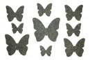 Купити Декор з рідких шпалер Метелики 3 набір 9 шт