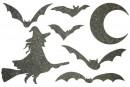 Купити Декор з рідких шпалер Хелловін 3 набір 7 шт
