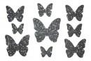 Купити Декор з рідких шпалер Метелики 2 набір 9 шт