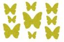Купити Декор з рідких шпалер Метелики 5 набір 9 шт