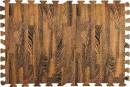 Купити м'яка підлога пазл МП6 коричневе дерево модульне підлогове покриття в Україні. Замов зараз. Доступні ціни інтернет магазин БудБум.