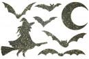 Купити Декор з рідких шпалер Хелловін 1 набір 7 шт