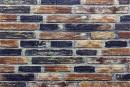 Самоклейка декоративна 3D панель 048 під сіро-синю цеглу катеринославську 700x770x5мм купити в Україні - БудБум