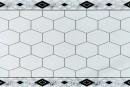 Купити самоклеюча вінілова плитка СВП 211 білі соти глянець 600х600х1,5мм в Україні. Доступні ціни інтернет магазин Буд-Бум