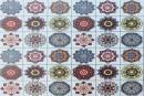 Купити самоклеюча вінілова плитка СВП 204 різнобарвна матовий 600х600х1,5мм в Україні. Доступні ціни інтернет магазин Буд-Бум