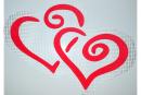 """Декор """"Два Сердця"""" ціна купити замовити виробництво каталог фото дешево доставка"""