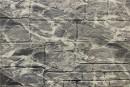 Самоклейка декоративна 3D панель 0154 камінь чорно-білий мармур 700х700х8мм купити в Україні - БудБум