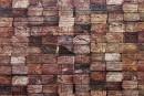 Самоклейка декоративна 3D панель 028 бруси 700x770x5мм купити Київ в Україні - БудБум