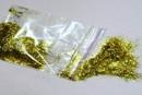 Добавки до рідких шпалер блиск золотистий смужка ТМ Екобарви