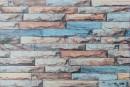 Купити самоклеюча вінілова плитка СВП 203 різнобарвна цегла матовий 600х600х1,5мм в Україні. Доступні ціни інтернет магазин Буд-Бум