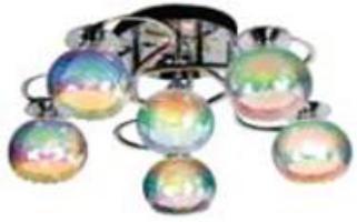 Купить Галогенная Люстра LED с пультом  S60009-6