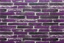 Самоклейка декоративна 3D панель 041 під фіолетову катеринославську цеглу 700x770x5мм купити Київ в Україні - БудБум