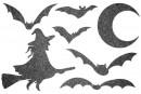 Купити Декор з рідких шпалер Хелловін 4 набір 7 шт