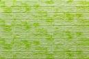 Самоклейка 3D панель 064 під цеглу салатовий мармур 700x770x5мм купити Київ в Україні - БудБум