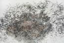 Добавки до рідких шпалер блиск срібло смужка S2 довжиною 0,4х4,7мм ТМ Новий-Тон