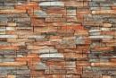 Самоклеящаяся декоративна 3D панель 058 під цеглу сіро-коричневий піщаник 700x770x5мм купити в Україні - БудБум