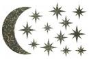 Купити Декор з рідких шпалер Зоряне небо 1 набір 13 шт