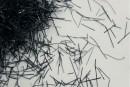 Блиск чорний Нитка 011 добавка до рідких шпалер Макс-Колор. Купити гліттери (блискітки) для декорування інтер'єру. Відмінна якість. Усе в наявності. Швидка доставка по Україні. Доступні ціни.