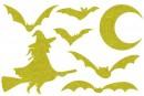 Купити Декор з рідких шпалер Хелловін 5 набір 7 шт