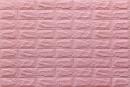 Самоклейка декоративна 3D панель 04-7 під рожеву цеглу 700x770x7мм купити в Україні - БудБум