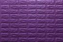 Самоклейка декоративна 3D панель 016-7 під фіолетову цеглу 700x770x7мм купити в Україні - БудБум