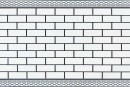 Купити самоклеюча вінілова плитка СВП 210 біла цегла глянець 600х600х1,5мм в Україні. Доступні ціни інтернет магазин Буд-Бум